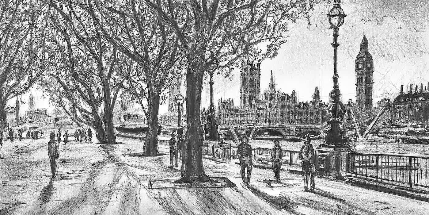 Original Drawings of London